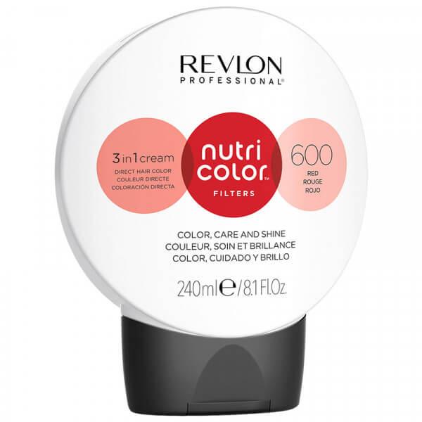 Revlon Nutri Color Creme 600 Red - 240ml