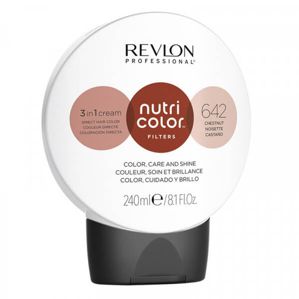Revlon Nutri Color Creme 642 Chestnut - 240 ml