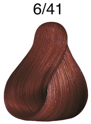 Vibrant Reds 6/41 dunkelblond rot-asch