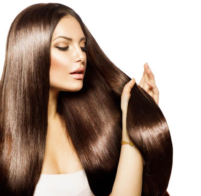 Glänzendes und gesundes Haar dank Keratin