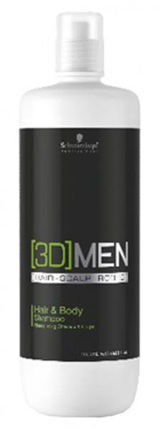[3D] MEN Hair & Body Shampoo (1000ml)