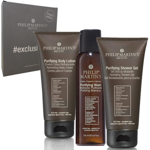 ExklusiveKit Purifying Shampoo + Shower Gel + Body Lotion