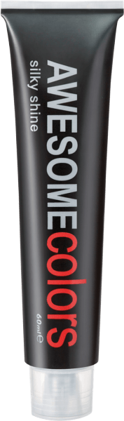 AWESOMEcolors Silky Shine 7/74 Mittelblond Braun-Rot 60 ml
