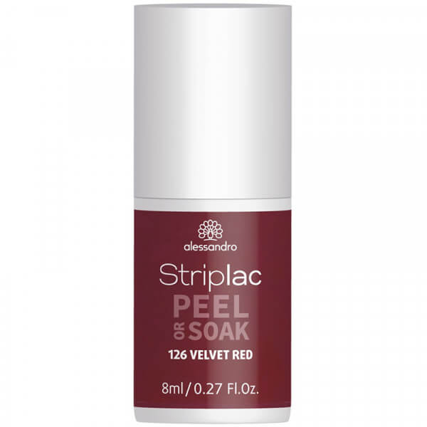 Striplac Peel or Soak - Velvet Red