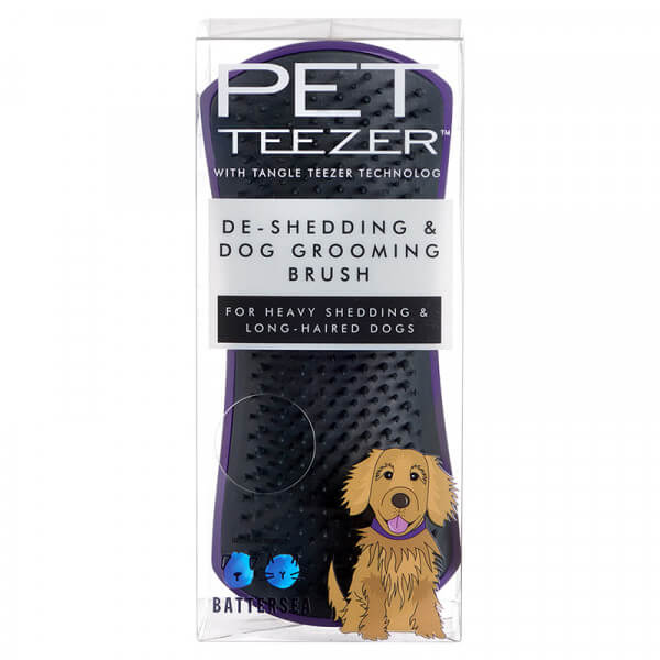 Tangle Teezer Pet Teezer De Shedding Purple