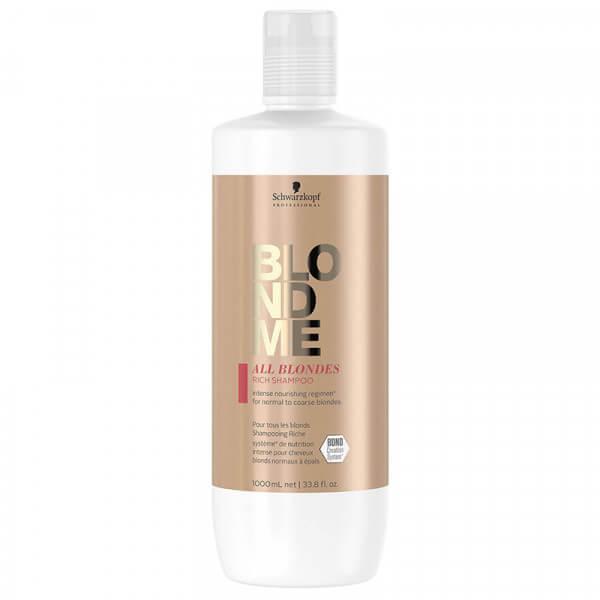 BLONDME All Blondes Rich Shampoo - 1000ml