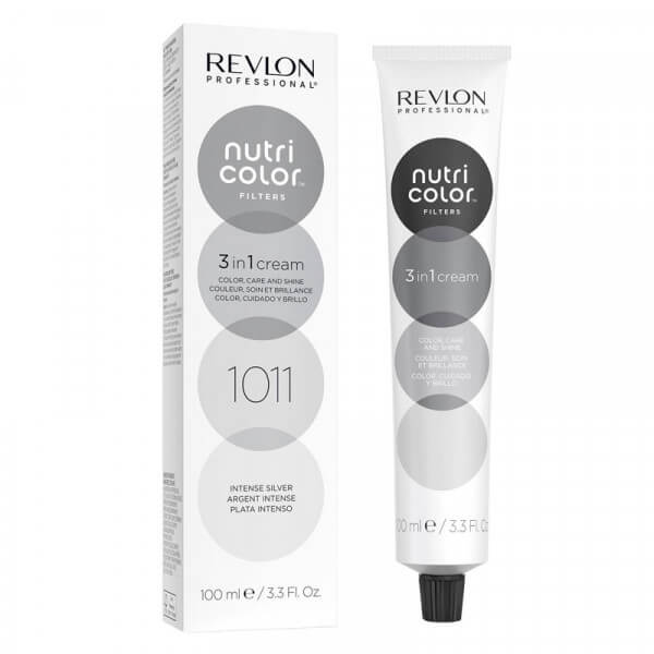 Revlon Nutri Color Creme 1011 Intense Silver - 100 ml