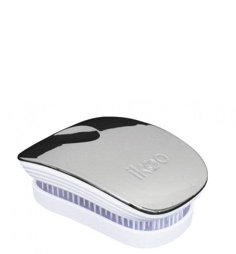 no tangel teezer Pocket oyster/white metallic