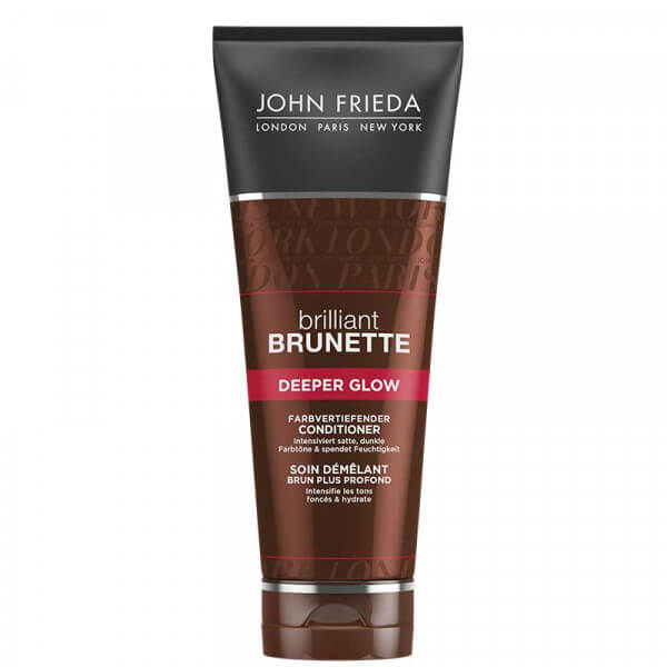 Brilliant Brunette Deeper Glow Conditioner John Frieda