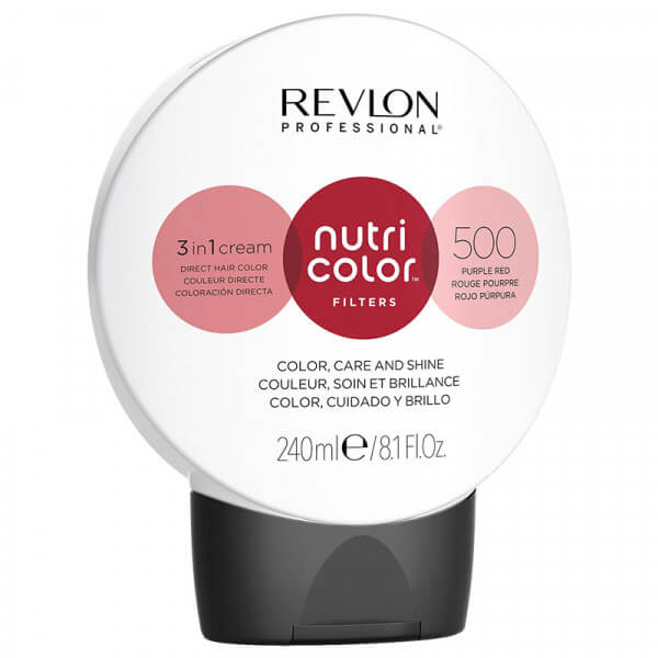 Revlon Nutri Color Creme 500 Purple Red - 240ml