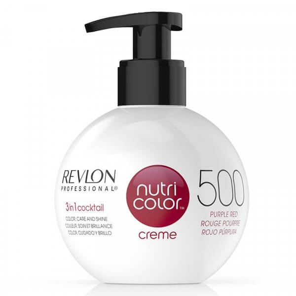 Nutri Color Creme 500 Purple Red Revlon Professional