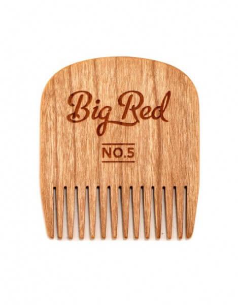 Bartkamm No.5 aus Kirschholz Big Red Beard