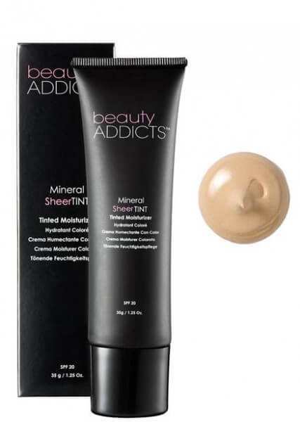 Beauty Addicts Mineral Sheer Tint, Porcelain