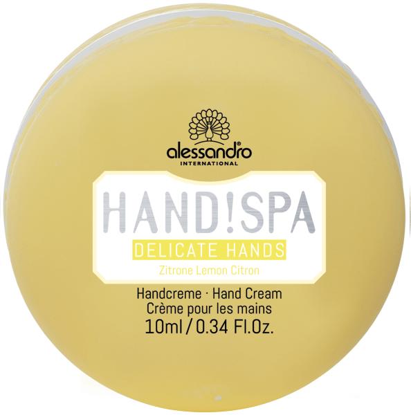 Hand!Spa - Delicate Hands Zitrone -Alessandro