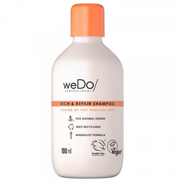 weDo/ Professional Rich & Repair Shampoo – 100ml