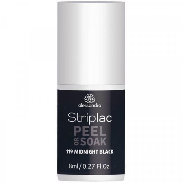 Striplac Peel or Soak - Midnight Black