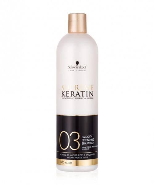 Keratin Supreme 03 Smooth Extending Shampoo (500ml)