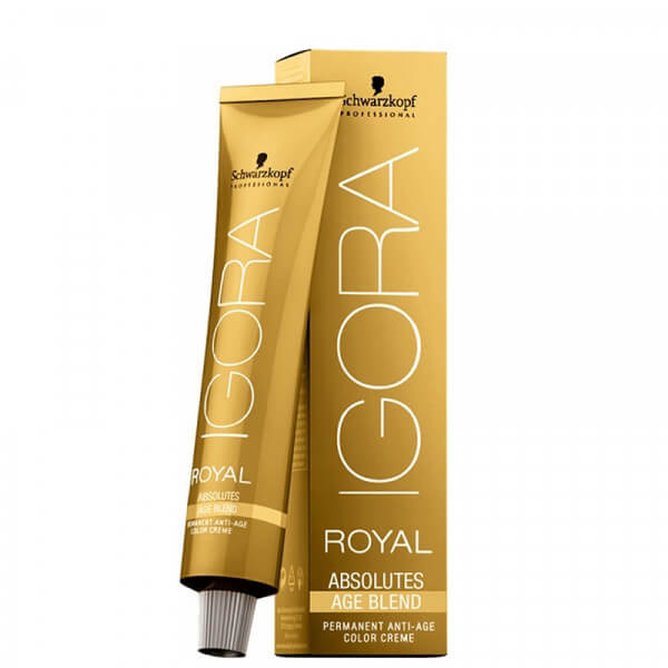 Igora Royal Absolutes Age Blend 7-710 Mittelblond Kupfer