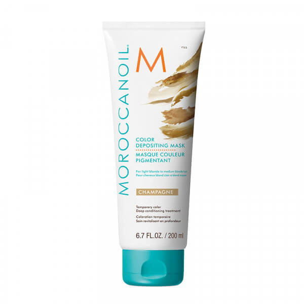 Moroccanoil Color Depositing Mask Champagne - 200ml