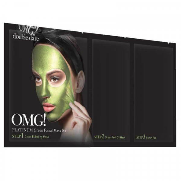 Platinum Green Facial Mask OMG