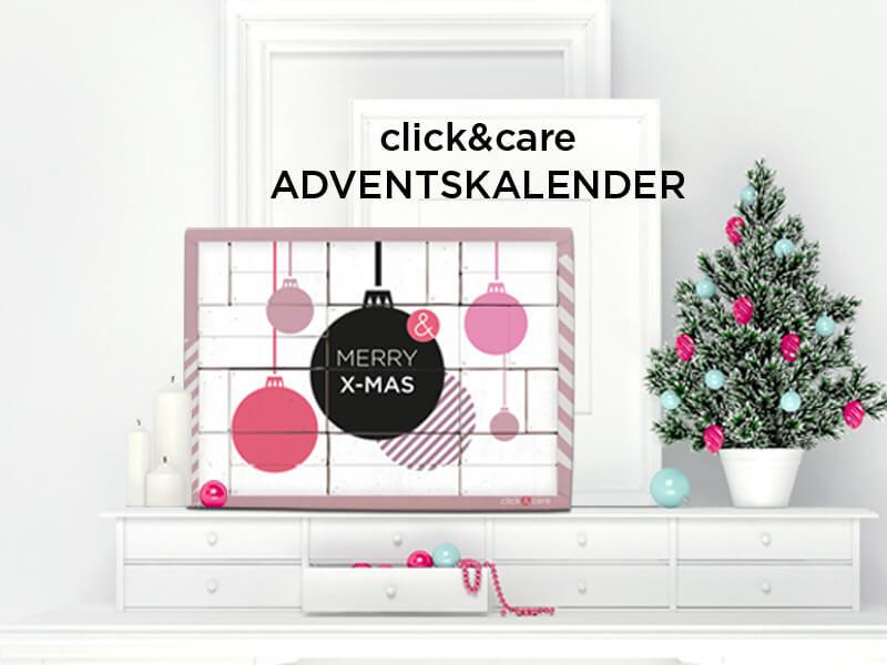 Adventskalender click&care 2018