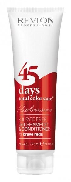 Revlonissimo 45 days Brave Reds Shampoo