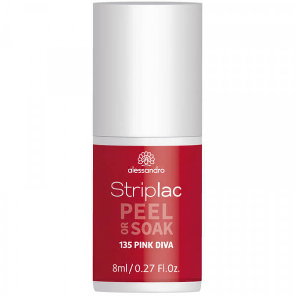 Striplac Peel or Soak - Pink Diva