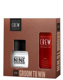 Groom to Win Set Shampoo + Parfum American Crew
