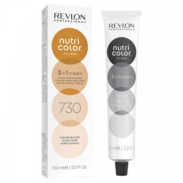 Revlon Nutri Color Creme 730 Golden Blonde - 100ml