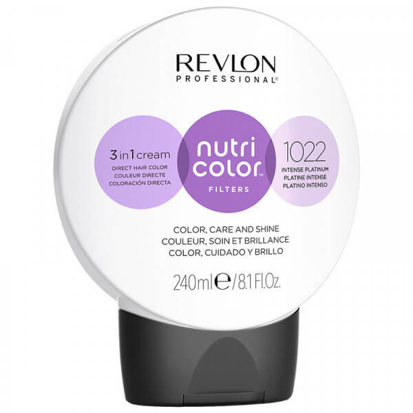 Revlon Nutri Color Creme 1022 Intense Platinum - 240ml