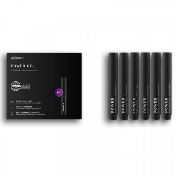SmilePen Professional Whitening Power Gel - 6x5ml