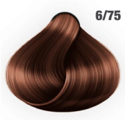 Silky Shine 6/75 Dunkelblond Braun-Mahagoni