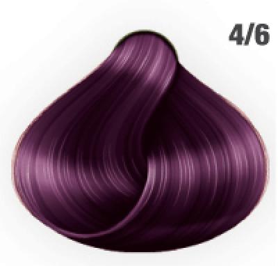 Silky Shine 4/6 Mittelbraun Violett