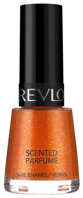 Scented Nail Enamel Orange Fizz