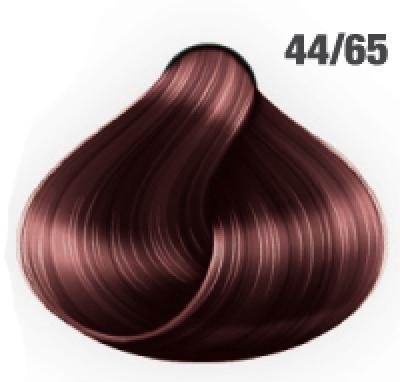Silky Shine 44/65 Mittelbraun Intensiv Violett-Mahagoni