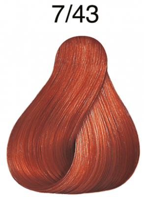 Color Touch Vibrant Reds 7/43 mittelblond rot-gold