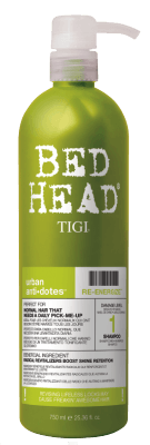 Bed Head Re-Energize Shampoo (750ml)