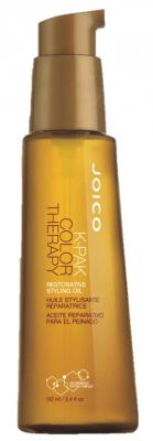 K-Pak Color Therapy Restorative Styling Oil (100ml)