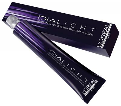 L'Oréal Dialight 4.20 Mittelbraun intensives Violett