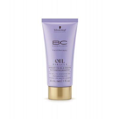BC Oil Miracle Barbary Fig Oil & Keratin Restorative Shampoo (30ml)