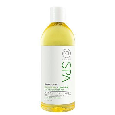 Massage Oil Lemongrass and Green Tea (355ml)
