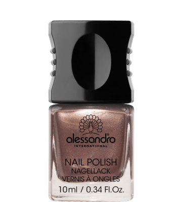 Brown Metallic Nagellack (10ml) alessandro 71