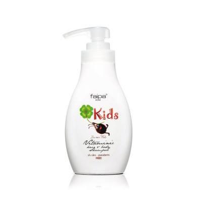 Kids Passion Fruit Vitaminic Hair & Body Shampoo (300ml)