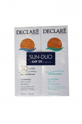 Sun sensitive SUN-DUO - sun lotion SPF30 & after sun (2x150ml)