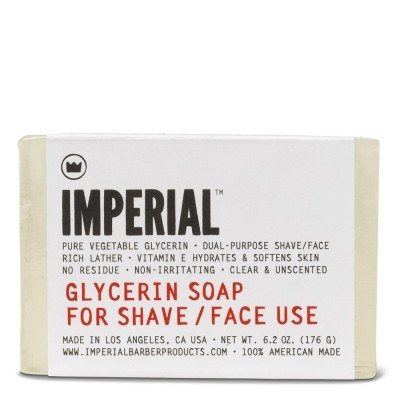 Glycerin Shave and Face Soap (176 g)
