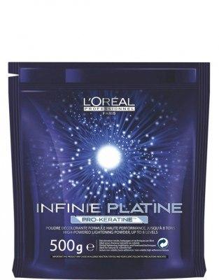 Infinie Platine Pro Keratin Blondierpulver (500g) L'Oréal