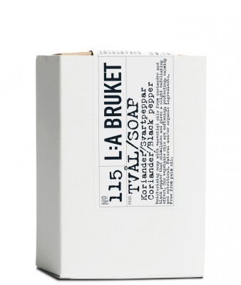 Koriander schwarzer Pfeffer Seife No 115 (120g) L:A Bruket