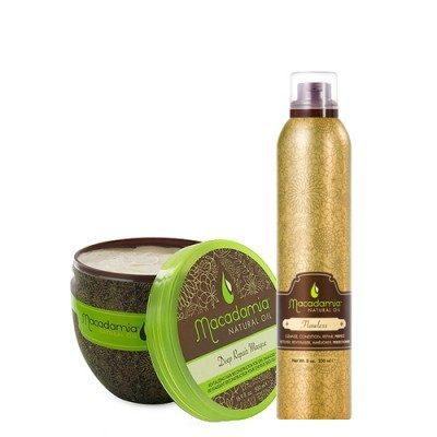 Macadamia Deep Repair Masque (500ml) + gratis Flawless