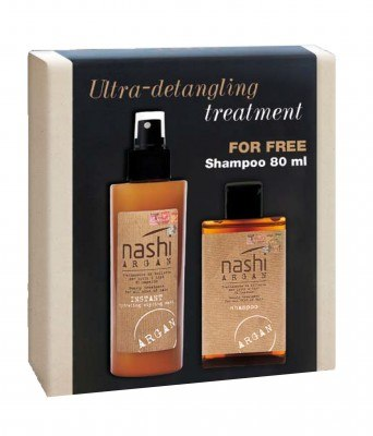 Nashi Argan Instant Hydrating Styling Mask Leave-In + SHAMPOO 80 ML