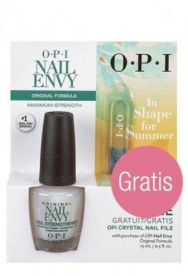 OPI Nail Envy In Shape for Summer Nagelhärter (15ml + gratis Feile)